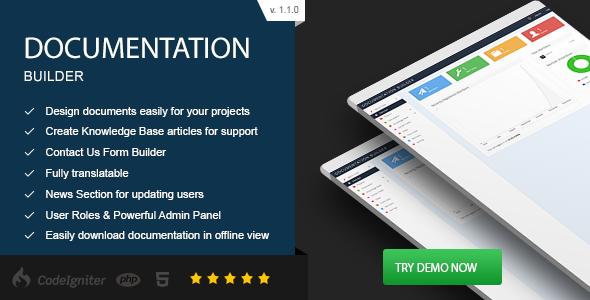 Documentation Builder PHP Script Download