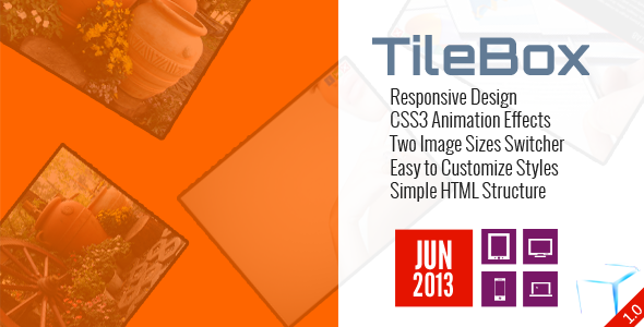 TileBox – Modern Responsive LightBox CSS PHP Script Download