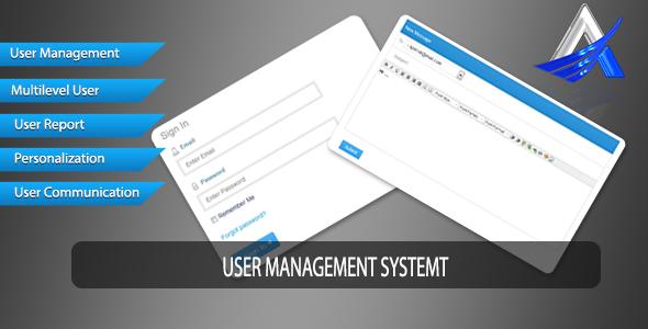 User Management System v3.0 PHP Script Download