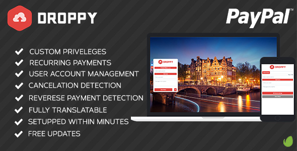 Droppy – Premium Subscription v1.1.0 PHP Script Download
