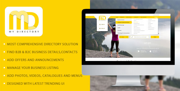 My Directory – Online Business Listings Directory Software Solution PHP Script Download