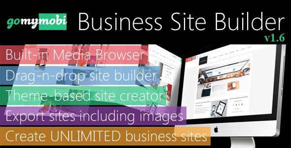 gomymobiBSB – Drag-n-Drop Business Webite Builder and Host Platforms v1.6 PHP Script Download