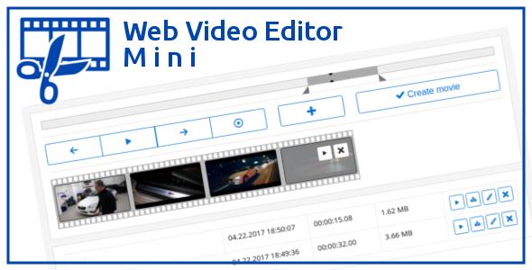 Web Video Editor Mini PHP Script Download