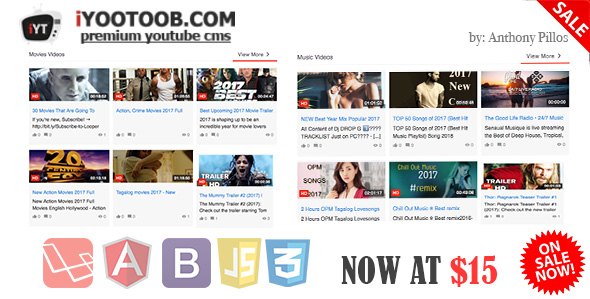 Installation Tips for iYOOTOOB – PREMIUM YOUTUBE CMS PHP