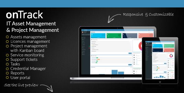 onTrack v1.7 – IT Asset Management & Project Management PHP Script Download