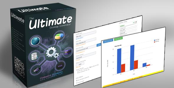 The Ultimate Sitemap Generator v1.5 PHP Script Download