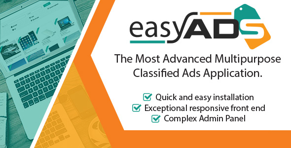 EasyAds v1.0.2 – Complex Classified Ads Application PHP Script Download
