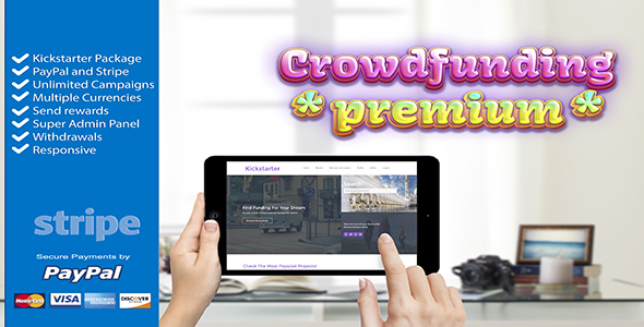 Crowdfunding Starter PHP Script Download