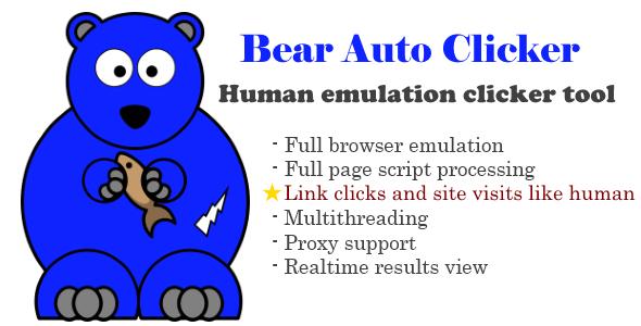 Bear Auto Clicker PHP Script Download
