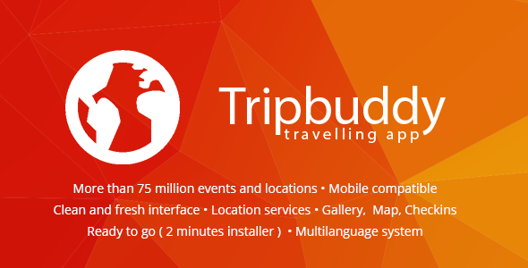 Tripbuddy v1.3 – Travel, Locations and Events Web App PHP Script Download