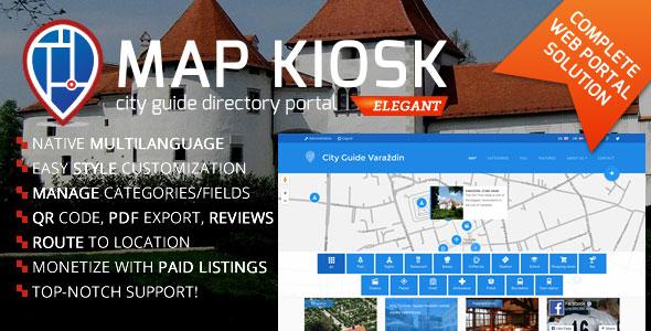 City Guide Directory Portal v1.6.1 PHP Script Download