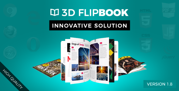 FlipBook – Animation jQuery Plugin PHP Script Download