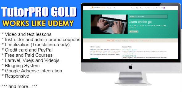 TutorPro GOLD Edition v1.2 PHP Script Download