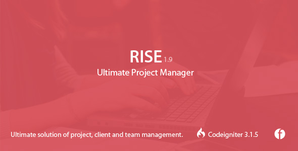 RISE v1.9 – Ultimate Project Manager PHP Script Download