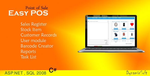 Easy POS v1.6 – Point of Sale PHP Script Download